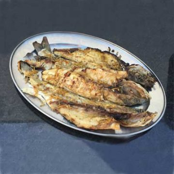 Sea Bass with Ginger & Chilli